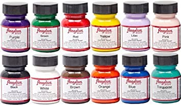 Angelus Acrylic Leather Paint Starter Kit by Angelus
