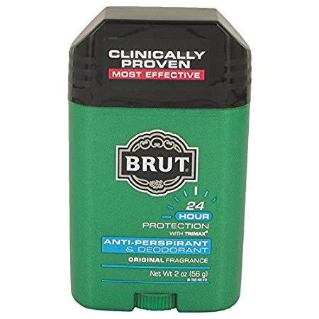 BRUT Anti-Perspirant Deodorant Stick Classic Scent 2 oz (Pack of 12)