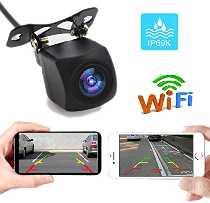 Polarlander 5V Car USB Wireless WiFi Blind Spot Front Rear Side View DVR Camera 1280720 WiFi Car Camera for iPhone and Android by APP