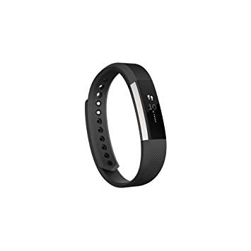 Fitbit Alta Wireless Activity and Fitness Tracker Smart Wristband, Black, Large (6.7-8.1 in) (Certified Refurbished)