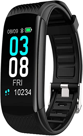 Fitness Tracker, NYZ Activity Tracker Heart Rate Monitor Step Calorie Tracker Counter Pedometer Fitness Health Exercise Watch Smart Fitness Bands Bracelet with IP68 Waterproof for Women Men Kids