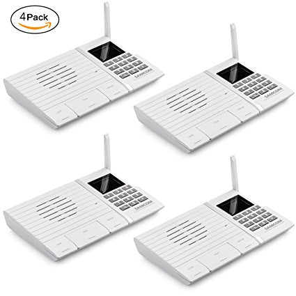 Samcom 20-Channel Digital FM Wireless Intercom System for Home and Of