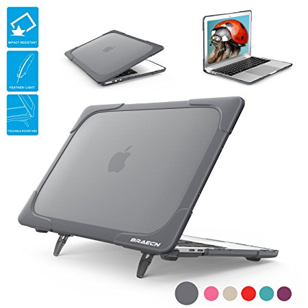 Macbook Air 13 Case, BRAECNstock [Heavy Duty] [Dual Layer] Hard Case Cover  with TPU+PC Bumper for Apple Macbook Air 13 3-inch 13