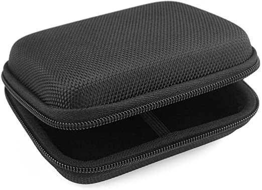 Geekria UltraShell Case for Bose SoundSport, SoundSport Pulse, QuietComfort 20, Replacement Protective Hard Shell Travel Carrying Bag with Room for Accessories (Black)