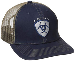 Ariat Men's Navy Center Logo