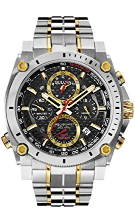Bulova Men's 98B228 Precisionist Analog Display Japanese Quartz Two T