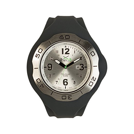 ADNA XXL 57SG Belgian Designed Interchangeable Silver color dial and