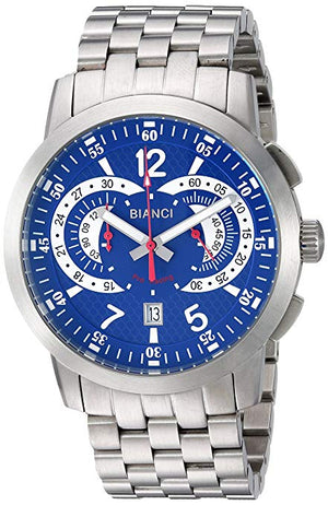 Roberto Bianci Men's RB70963 Casual Lombardo Analog Blue Dial Watch