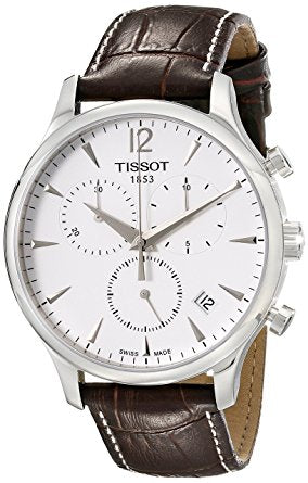 Tissot Men's T063.617.16.037.00 Stainless Steel Tradition Watch with