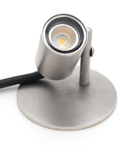 Stainless steel pond light with 3W LED