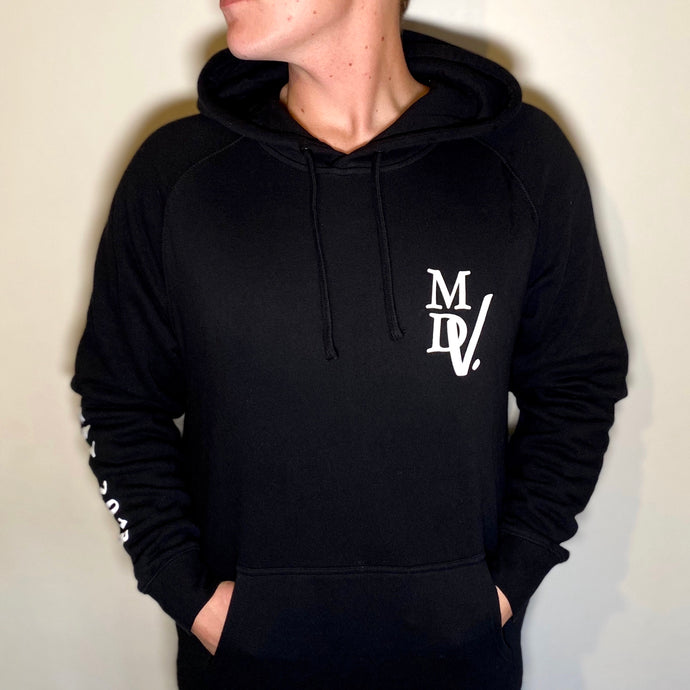 The '20/20 DNA' Hoodie - Black