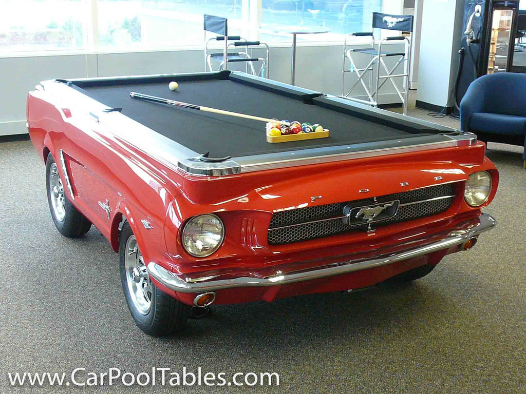 A History Of Car Pool Tables
