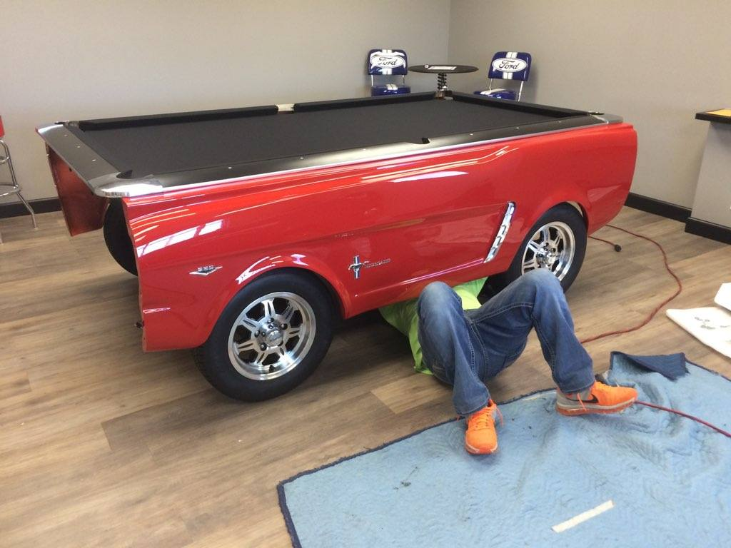 Review of a Mustang Car Pool Table by a Certified Master Billiard Mechanic