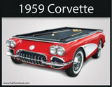 Corvette - 1959 Collectors Edition Pool Table
