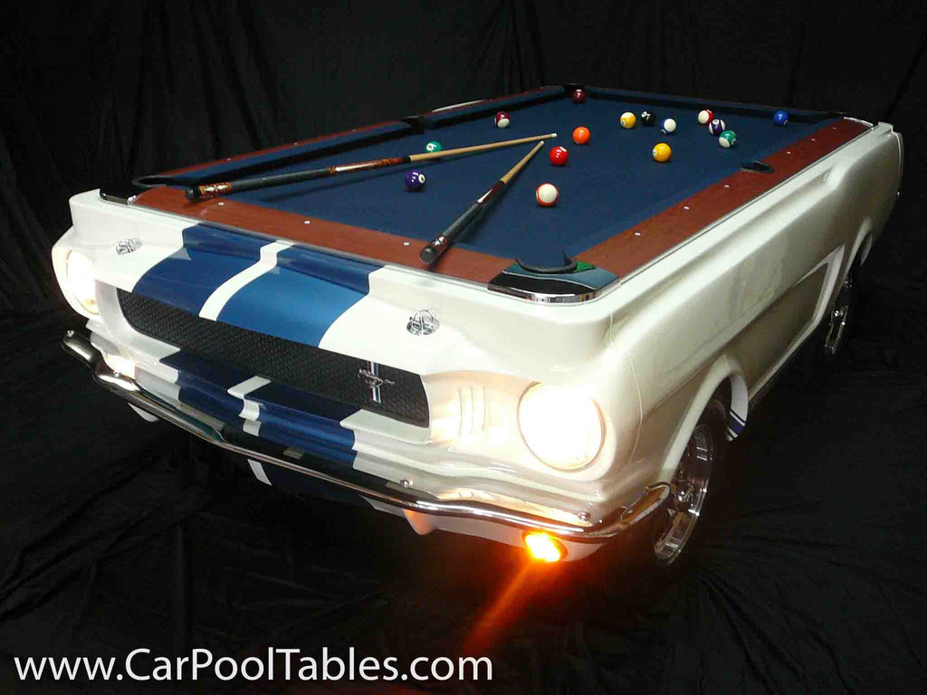 ... 1965 Shelby GT 350 Pool Table ... Gallery