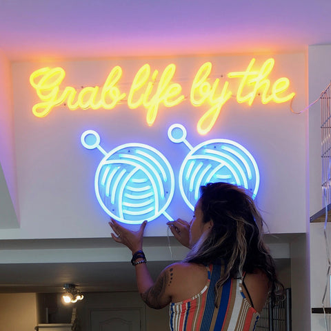 Tribe Yarns Neon Sign