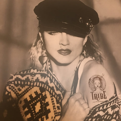 Tribe Yarns Tattoo on Madonna
