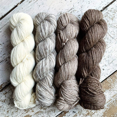 100% BFL Natural Roving Yarn West Yorkshire Spinners Yarn