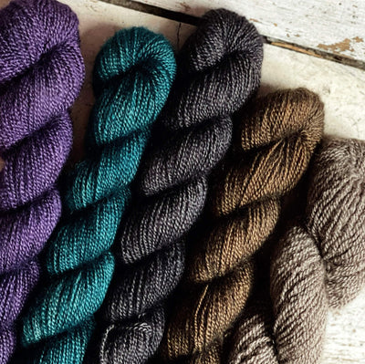 100% Qiviut (Musk Ox) - 2 Ply Pascuali Yarn