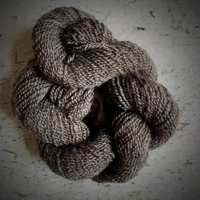 100% Qiviut (Musk Ox) - 2 Ply Pascuali Yarn Natural Q
