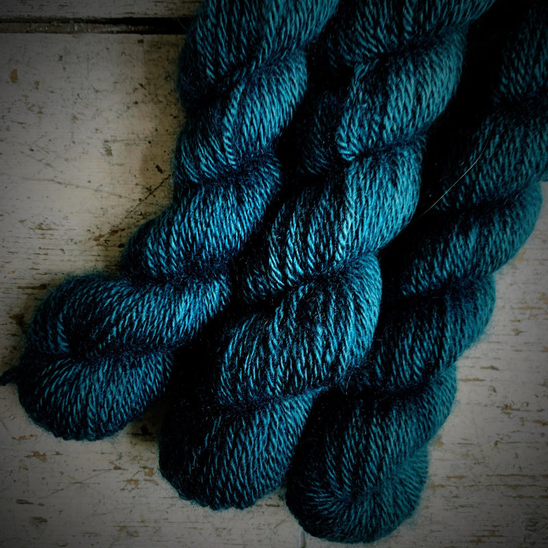 100% Qiviut (Musk Ox) - 3 Ply Pascuali Yarn Storm Grey