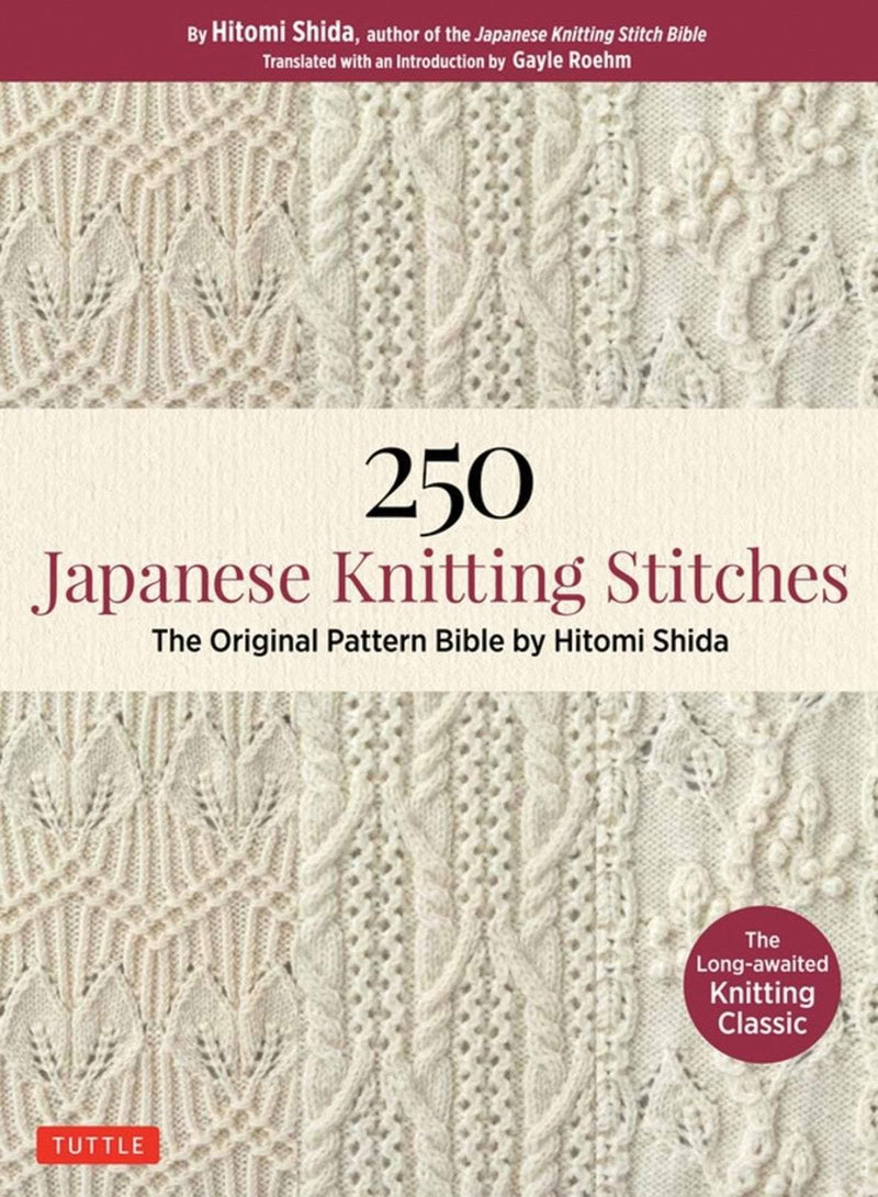 250 Japanese Knitting Stitches Search Press Book