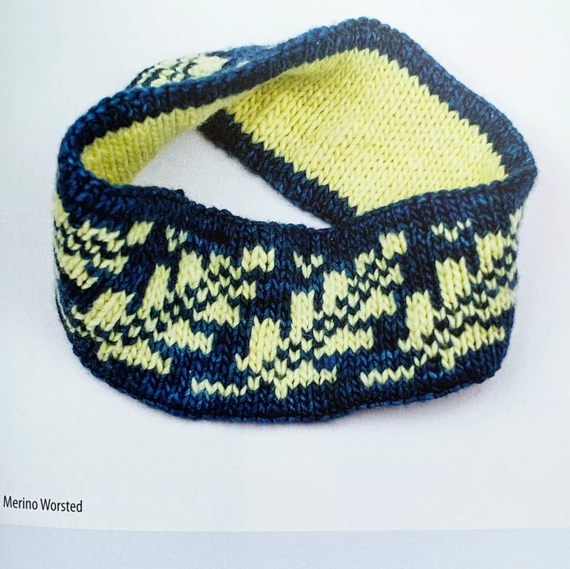 30 Knitted Headbands and Ear Warmers Search Press Book