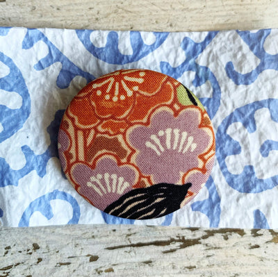 40mm Vintage Kimono Silk Brooches/Pins Yoko of Richmond Other Stuff Bouquet