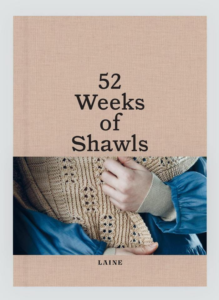 52 Weeks of Shawls - Laine Laine Book