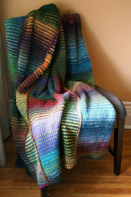 64 Crayons Blanket Pattern tribeyarns Pattern