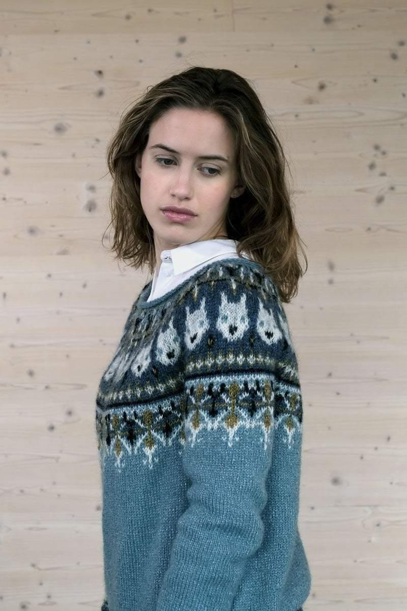Alopex Sweater Pattern einrum Pattern