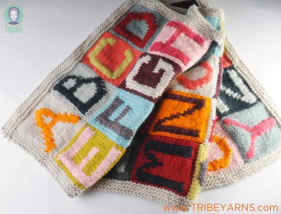 Alphabet Sampler Blanket Pattern Mrs Moon Pattern