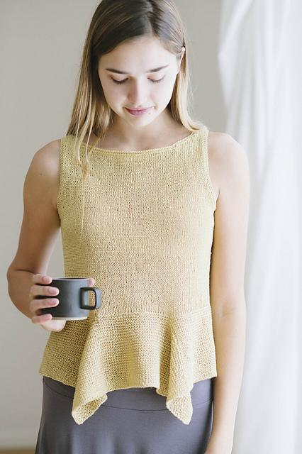 Amalia Pattern Quince & Co. Knitting Pattern
