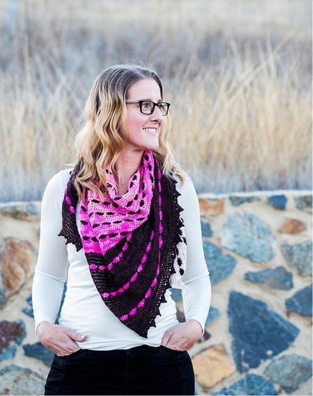 Amaroo Crochet Shawl Pattern tribeyarns Pattern