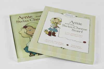 Annie and the Swiss Cheese Scarf Deluxe Set Never Not Knitting Book