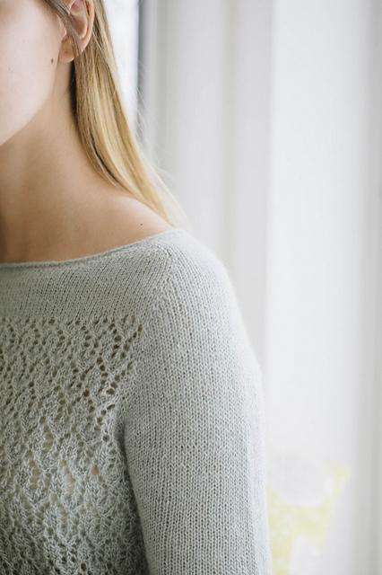 April Sweater Pattern Quince & Co. Knitting Pattern