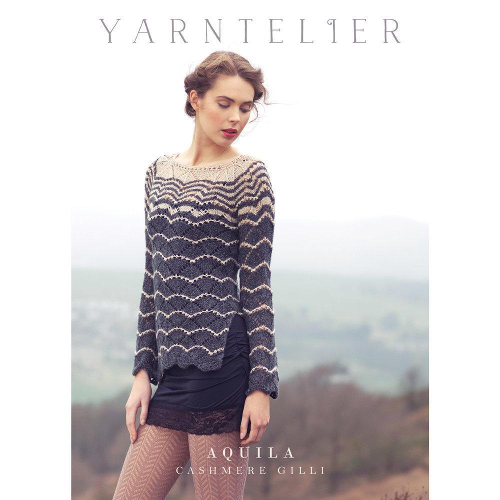 Aquila Sweater Pattern Yarntelier Kntting Pattern