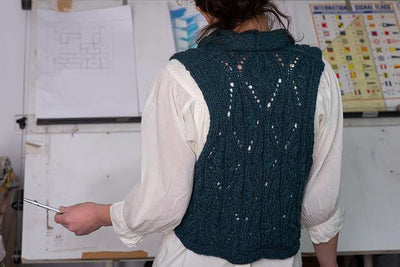 Arabesque Gilet Pattern Di Gilpin Pattern