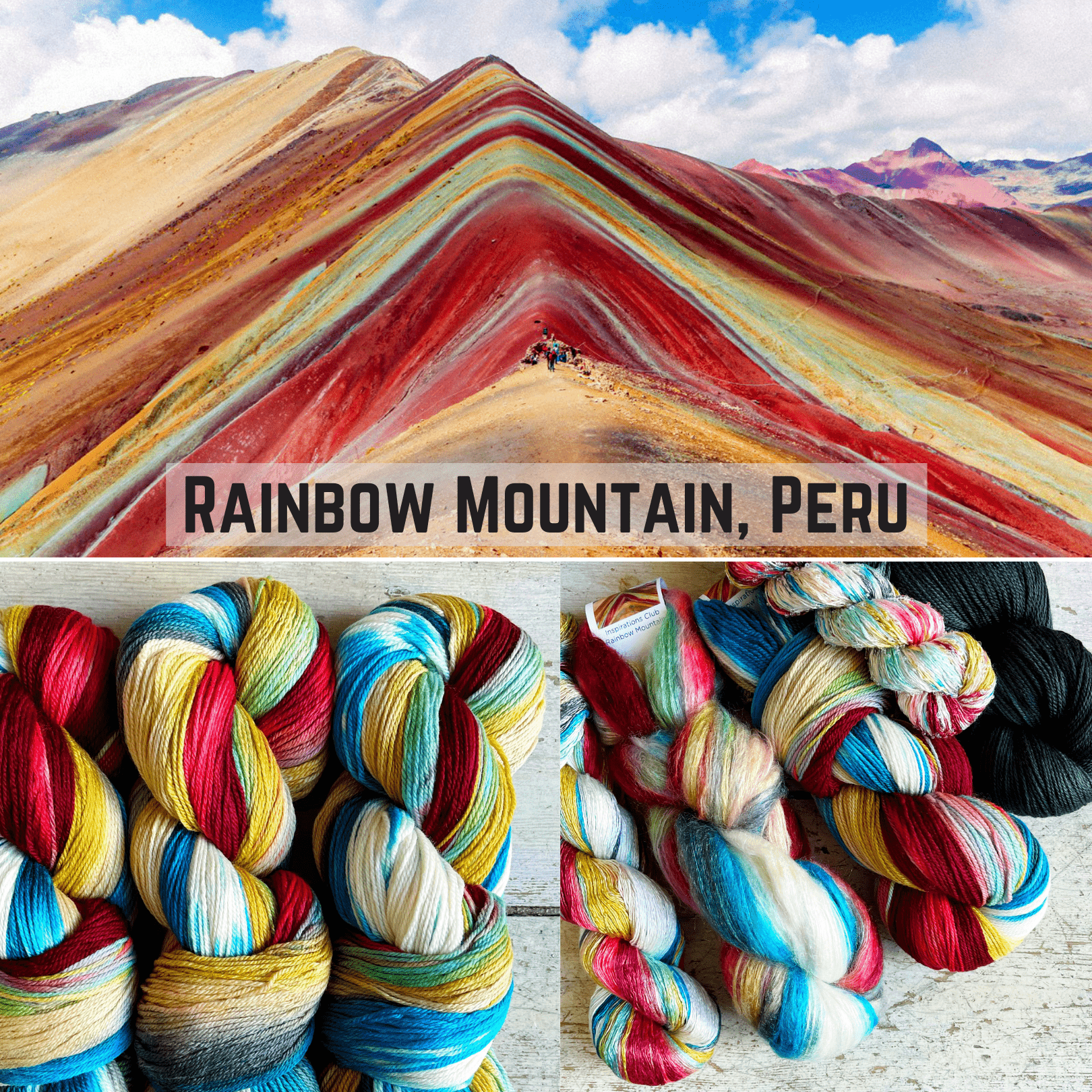 Artyarns Inspiration Club April 2021: Rainbow Mountain Artyarns Yarn