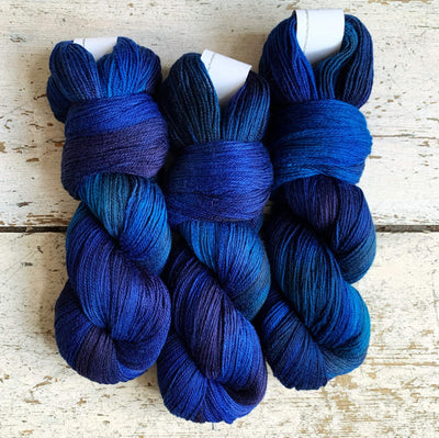 Artyarns Inspiration Club: LYS Day 2020 Blue Artyarns Yarn Blue Merino Cloud