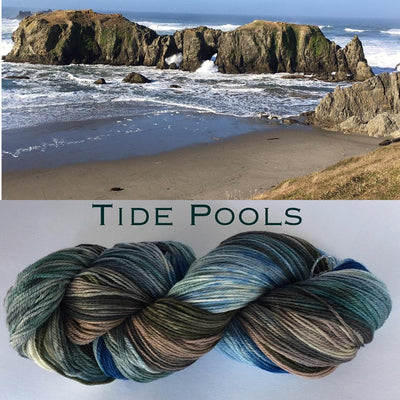 Artyarns Inspiration Club Nov 2020: Tidepools Artyarns Yarn
