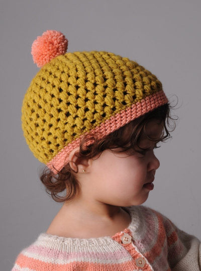Baby Beret Crochet Pattern By Mrs Moon Tribe Yarns London