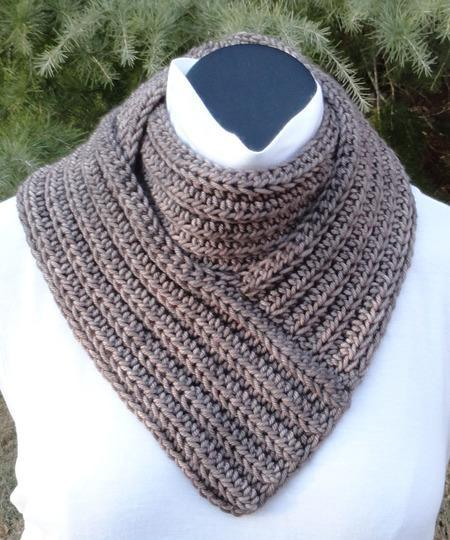 Bandanity Crochet Cowl Pattern tribeyarns Pattern