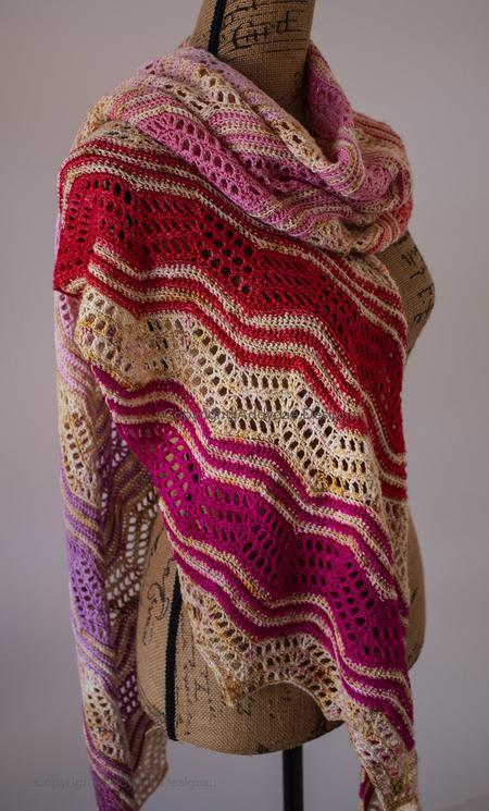 Bantam Shawl Crochet Pattern tribeyarns Pattern