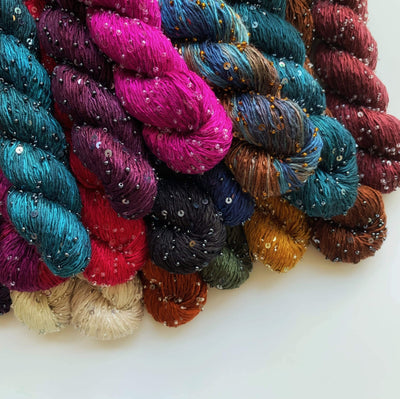 Beaded Silk and Sequins Light Artyarns Yarn 527