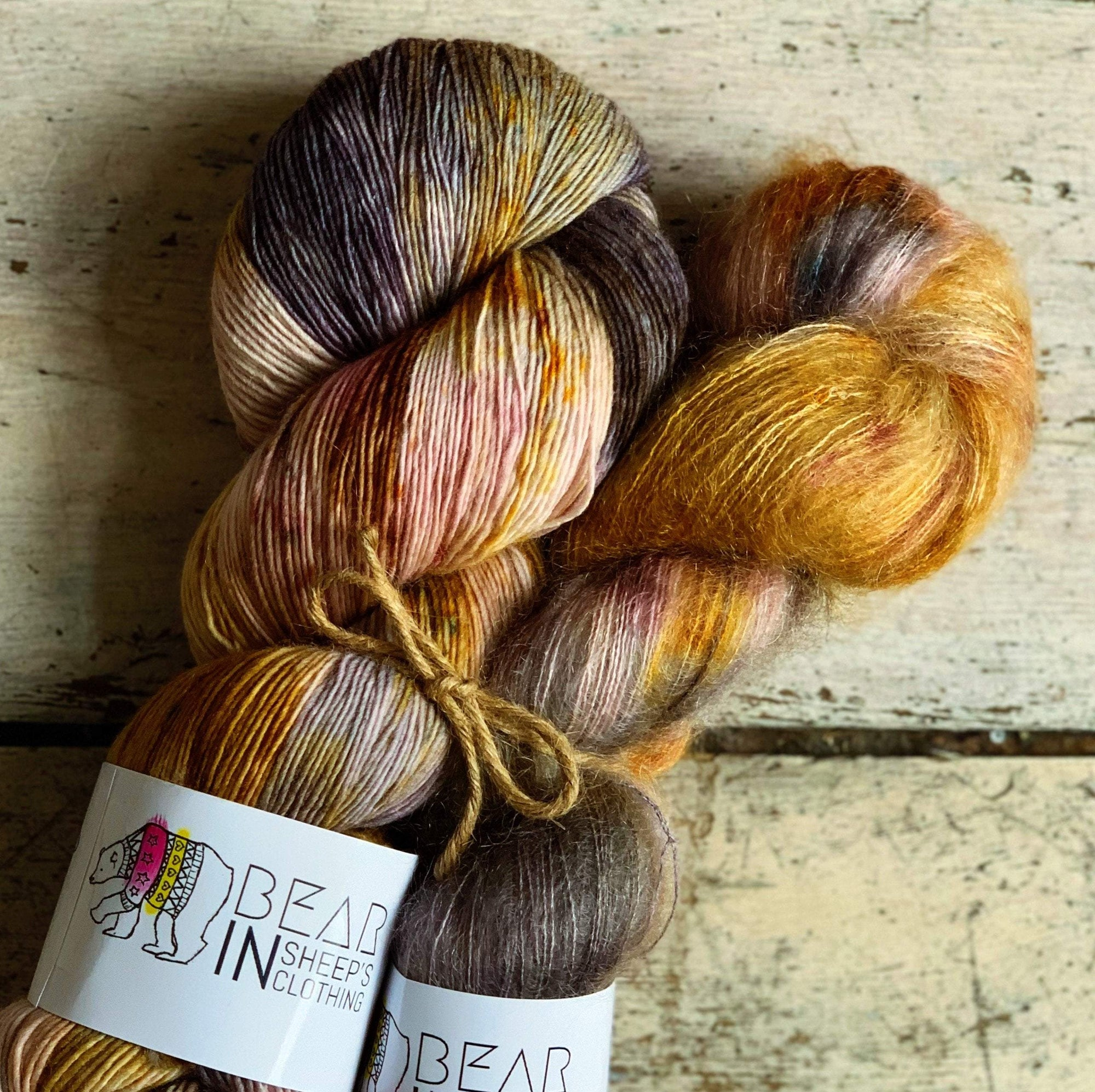 Bear Kit: Learning to Cry Bear In Sheep's Clothing Yarn Bohemian Cry
