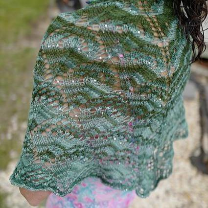 Beautiful Triangle Shawl Pattern Artyarns Pattern