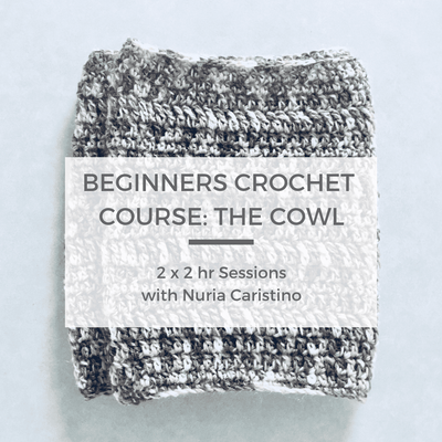 Beginners Crochet Course 1: The Cowl, 16th & 23rd Jan tribeyarns Event
