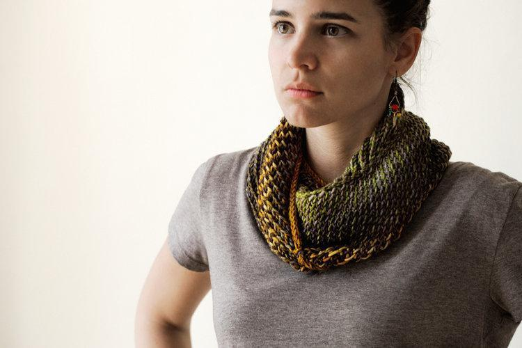 Bella Cowl Pattern Urth Yarns Knitting Pattern