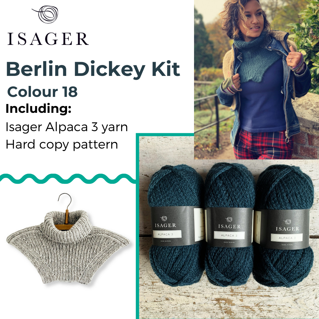 Berlin Dickey Kit Isager Kits & Combos 18 Alpaca 3